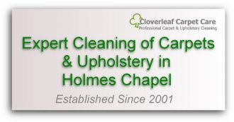carpet cleaning Holmes Chapel