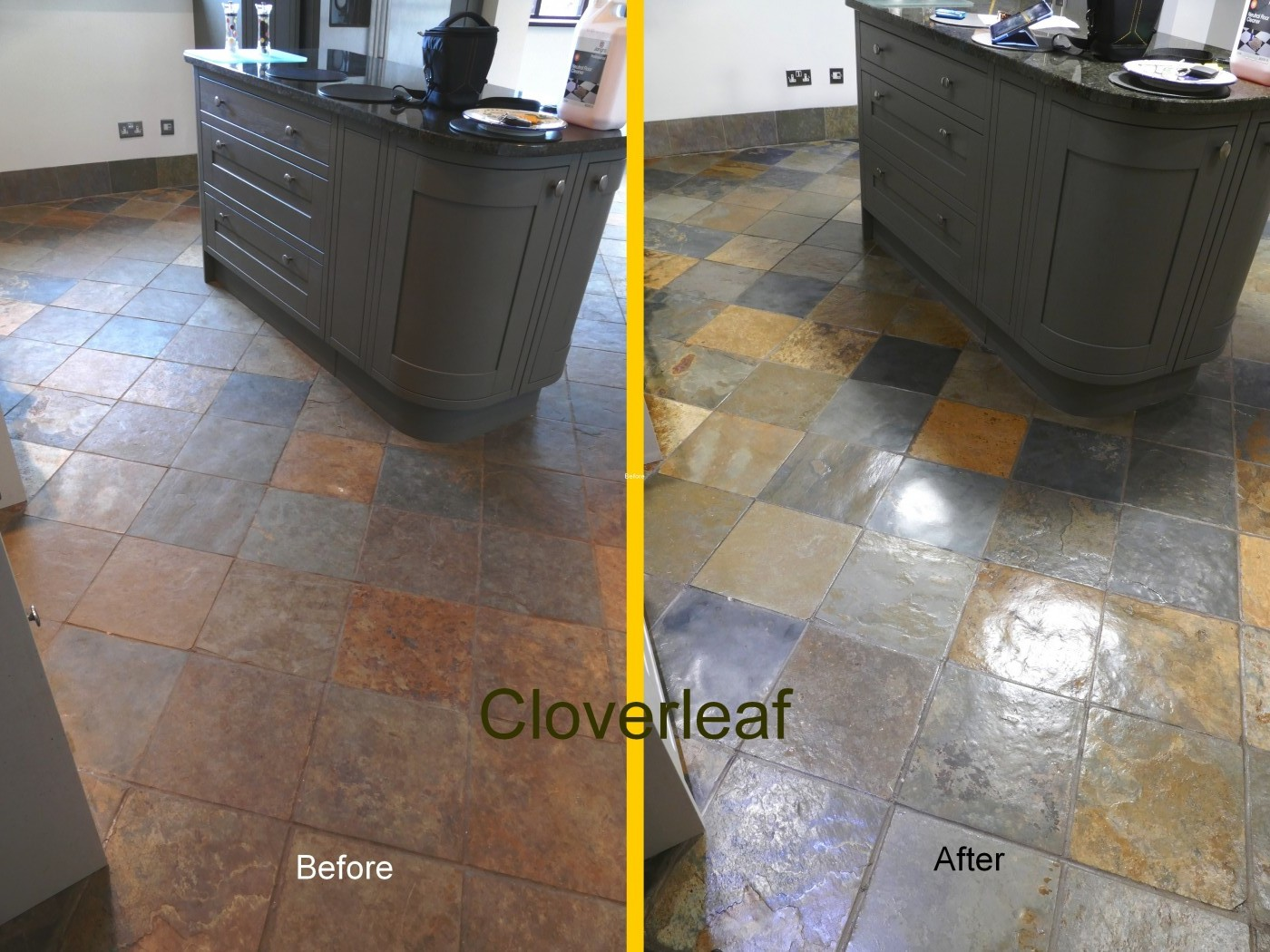 Slate floor restoration Cheshire