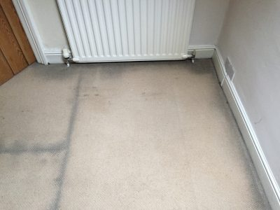 black lines at edge of carpet