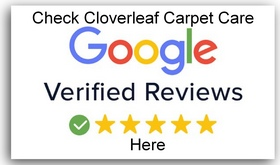 Cloverleaf Carpet Care Google reviews