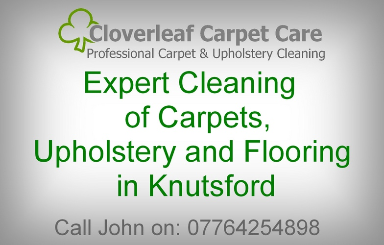 Knutsford carpet cleaning