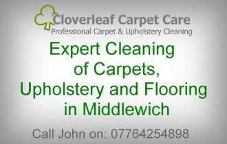Carpet Cleaning Middlewich